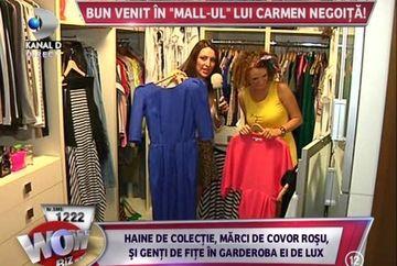 Carmen Negoita are o rochita cu pompa si se umfla pentru a da efect Marilyn Monroe! Vezi cum arata