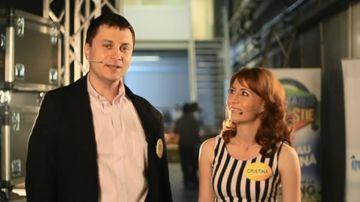 """Un cuplu de ingineri din Craiova a castigat o masina, la """"Jumatatea mea stie!"""""""