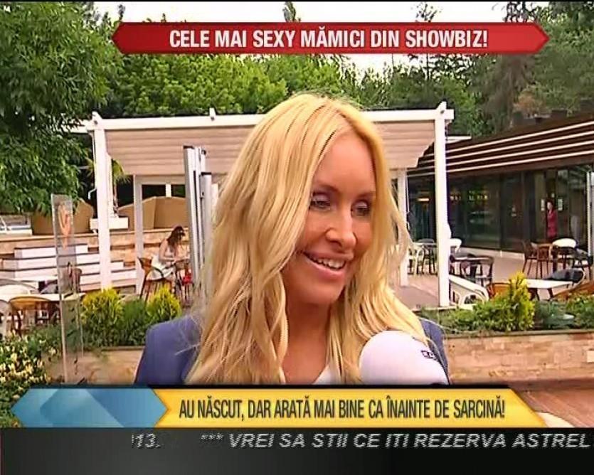 """Vica Blochina: """"Sunt o mama exigenta pentru ca sunt si tata totodata"""" VIDEO"""