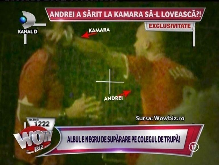 SCANDAL MONSTRU intr-o parcare! Andrei a sarit la Kamara sa-l BATA?!