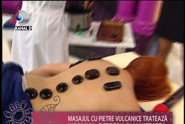Masajul cu PIETRE VULCANICE, ideal pentru relaxare si detoxifiere VIDEO