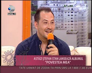 "Stefan Stan : ""Muza mea e Andreea Mantea!"" VIDEO"