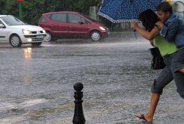 AVERTIZARE METEO: Vremea SE STRICA in toata tara! Se anunta ploi pana vineri dupa-amiaza VIDEO