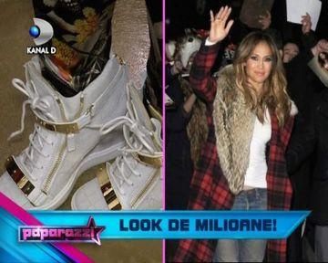 Raluca Badulescu poarta incaltamintea preferata a lui Jennifer Lopez! VIDEO