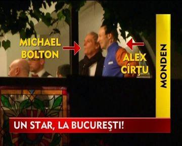 Rasfat culinar pentru Michael Bolton la Bucuresti! VIDEO