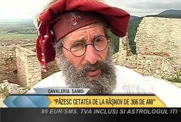 """Cavalerul Samo: """"Pazesc Cetatea Rasnovului de 366 de ani"""" VIDEO"""