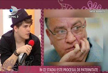 Actorul Danni Ionescu i-a intentat un PROCES DE PATERNITATE lui Mircea Sandu VIDEO
