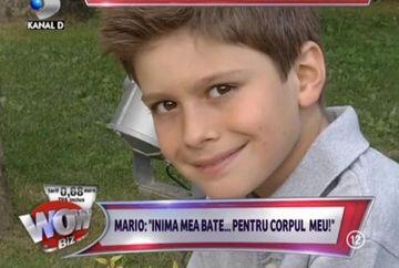 Mario, fiul lui Adrian Mutu, un ROMANTIC INCURABIL. Afla cui ofera ZILNIC flori!