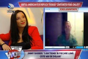 Intalnire de GRADUL ZERO in platoul emisiunii WOWbiz! Bijou, cantareata fara chiloti, FATA IN FATA cu tatal fetitei ei FOTO