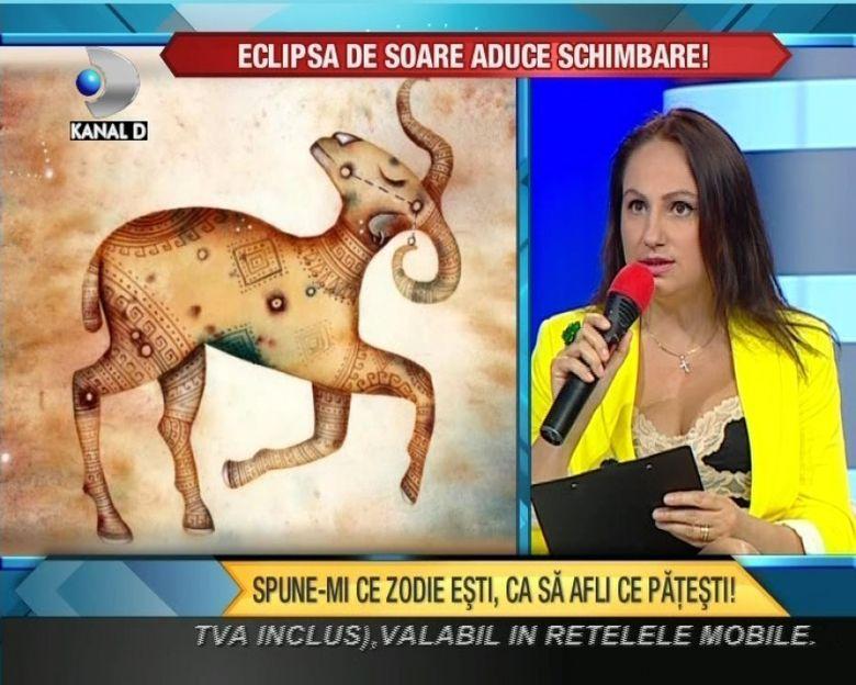 Cristina Demetrescu iti spune HOROSCOPUL ECLIPSEI de Soare. Afla ce schimbari iti vor afecta viata in aceasta perioada de foc! VIDEO