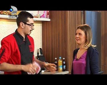 """Bianca Ionita a gatit cea mai fresh salata de Paste, la """"Bucatarescu""""! VIDEO"""