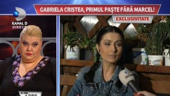 "Gabriela Cristea, DECLARATII SOC: ""Marcel e aici cu mine"""