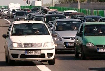 VACANTA DE 1 MAI: Coloane de kilometri formate de masinile in drum spre litoral sau spre munte