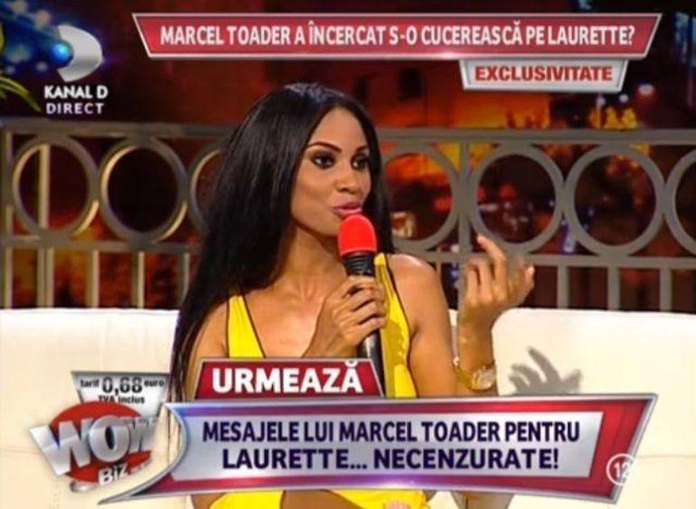 HALUCINANT: Marcel Toader a vrut sa o treaca in lista de cuceriri si pe Laurette? Vezi MESAJELE NECENZURATE pe care i le-a trimis
