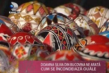 Traditii romanesti de Paste! Afla cum se incondeiaza ouale din Bucovina