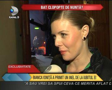 EXCLUSIV! Bat clopote de NUNTA? Bianca Ionita a primit un inel de la iubitul ei VIDEO