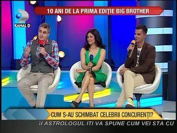 Se implinesc 10 ANI de la prima editie Big Brother! Iata cum s-au schimbat cunoscutii concurenti VIDEO