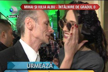 Intalnire de GRADUL ZERO! Mihai Albu fata in fata cu fosta lui sotie, Iulia Albu VIDEO