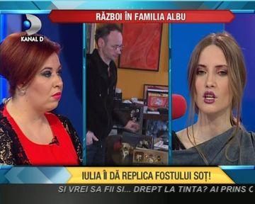 """SOC! Iulia Albu ii DA REPLICA fostului sot: """"Mihai Albu e un capitol inchis"""" VIDEO"""