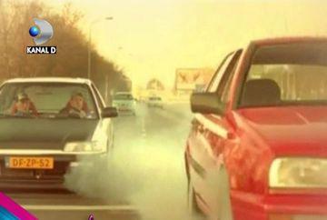 INCREDIBIL! CE VEDETA feminina din Romania a lovit un autobuz in trafic VIDEO