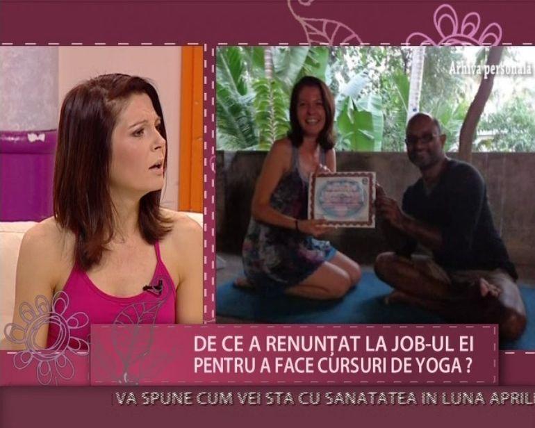Dana Marina, experta in yoga! Iti arata cateva pozitii benefice organismului VIDEO
