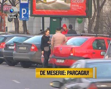 Parcagii din Bucuresti fac legea! Uite cum fac milioane dintr-un leu VIDEO