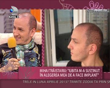 """Mihai Traistariu, MARTURISIRI SOCANTE despre implantul de par: """"In fata mi-au dat gauri cu burghiul. M-a durut de mi-a crapat capul!"""" VIDEO"""