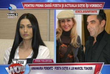"Gabriela Cristea vs Ana Maria Ferentz, fosta sotie a lui Marcel Toader: ""Marcel e o persoana violenta"""