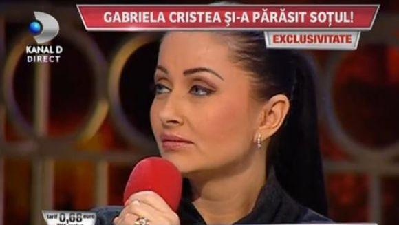"Gabriela Cristea, MARTURISIRI CUTREMURATOARE IN EXCLUSIVITATE: ""A plecat si m-a lasat sa-mi strang bagajele. Nu mi-a zis sa raman"""