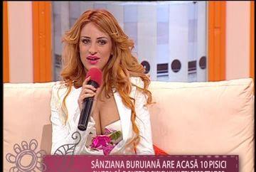 Sanziana Buruiana are acasa 10 pisici si vrea sa doneze 2 dintre ele unui telespectator VIDEO