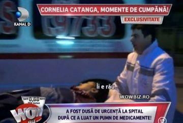 Cornelia Catanga, dusa DE URGENTA la spital! Artista a luat UN PUMN DE MEDICAMENTE