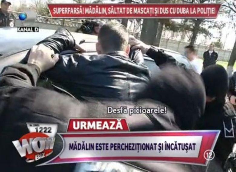 A trait CEL MAI NEGRU COSMAR! Madalin Ionescu, INCATUSAT SI SALTAT de mascati in plina strada FOTO