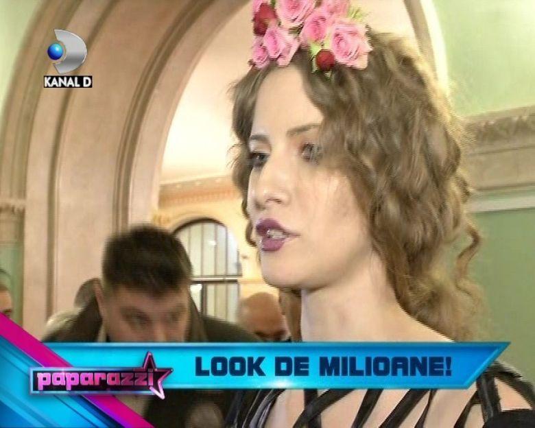 Iulia Albu, rochie cu diamante la premiile GOPO! Vedeta a purtat o tinuta vestimentara de 10 000 de euro VIDEO