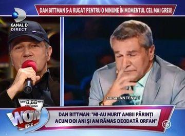 """Dan Bittman a ramas fara ambii parinti intr-un an si s-a operat la gat! """"M-am simtit vulnerabil"""""""