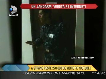 Un jandarm, VEDETA PE INTERNET! A strans peste 270.000 de vizualizari pe YouTube. Are o voce DE AUR VIDEO