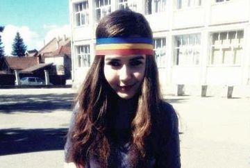 Sabina, fetita care A MOBILIZAT o tara intreaga! A primit AMENINTARI CU MOARTEA de la colegii maghiari dupa ce s-a dus la scoala cu o bentita tricolora FOTO