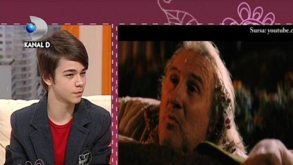 Faceti cunostinta cu Bogdan Iancu, un adolescent de numai 13 ani, care a jucat alaturi de Gerard Depardieu si Harvey Keitel VIDEO