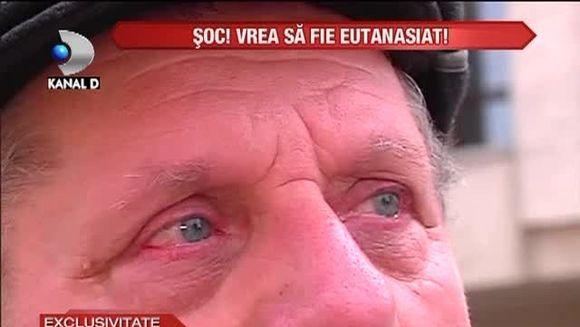 SOCANT: Saracia l-a adus in pragul DISPERARII! Vrea sa fie EUTANASIAT VIDEO
