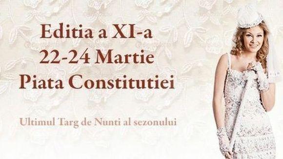 Ai planuri de casatorie? Vino la Targul National de Nunti al Romaniei si poti beneficia de reduceri si oferte speciale