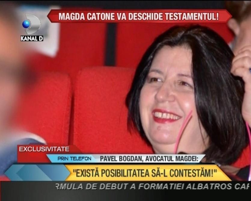 EXCLUSIV! Magda Catone deschide TESTAMENTUL lui Serban Ionescu. Vrea custodia lui Carol VIDEO