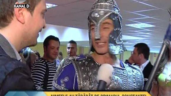 Radu Mazare S-A TRANSFORMAT INTR-UN RAZBOINIC! Edilul Constantei a facut din nou un show de senzatie VIDEO