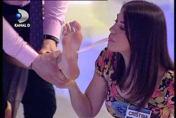"""Ana a ras CU LACRIMI! """"Gadil-o pe Ana la talpi cu un fulg pe care il tii in gura"""", pedeapsa pe care a primit-o o concurenta VIDEO"""