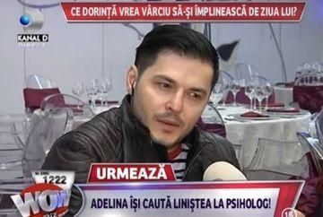 """PRIMELE declaratii! Liviu Varciu, despre despartirea de Adelina: """"Da, eu am pus capat! Adelina s-a schimbat"""""""