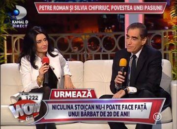 Petre Roman si Silvia Chifiriuc, POVESTEA unei pasiuni! Au dezvaluit SECRETUL relatiei lor