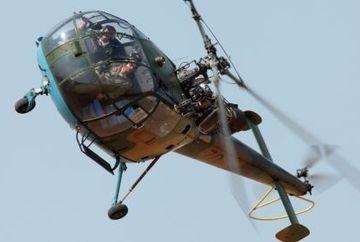 TRAGEDIE in Bacau: Un elicopter militar s-a prabusit!