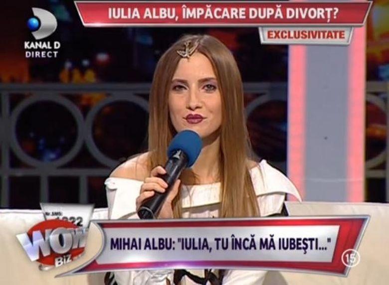 Iulia Albu, CONFESIUNI IN EXCLUSIVITATE despre un divort asteptat