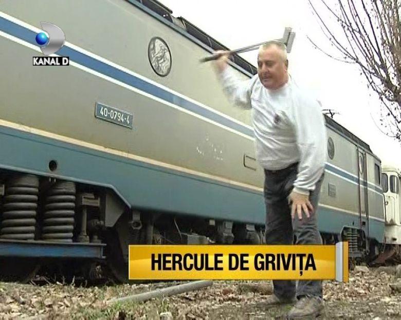HERCULE de GRIVITA, cel mai PUTERNIC pensionar din tara VIDEO