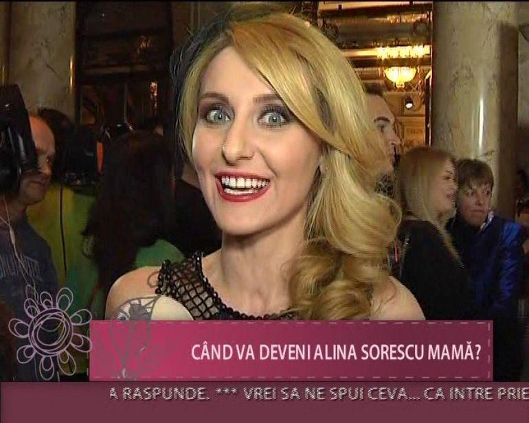 Alina Sorescu: Ne dorim cel putin trei copii, insa sa vina primul mai intai VIDEO