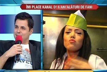 Madalin Ionescu nu a putut sa o opreasca pe Andreea Mantea din mancat...shaorma! VIDEO