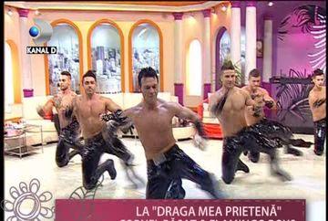 "Cornel Pasat si Flamingo Boys, SHOW INCENDIAR la ""Draga mea prietena"" VIDEO"